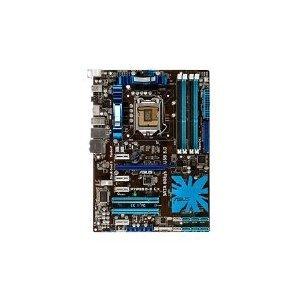 ASUS Socket 1156/Intel P55/SATA3&USB 3.0/A&GbE/ATX Motherboard s P7P55D-E LX