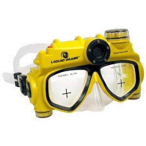 Liquid Image Explorer Series 5.0MP Underwater Digital Camera Mask