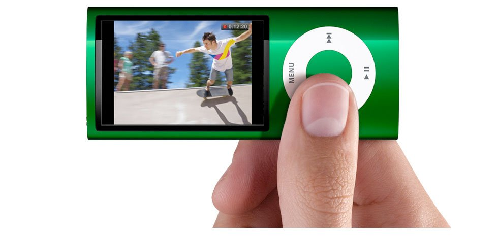 Apple iPod nano 8 GB Green (5th Generation)