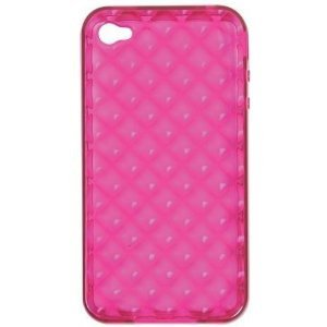 Rocketfish RF-WR1003 Pink Soft Gel Case iPhone 4