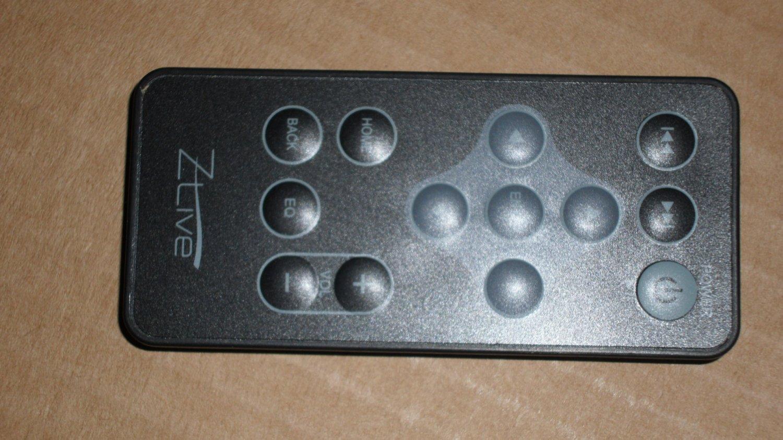 Zlive Zune Docking Station Remote Control