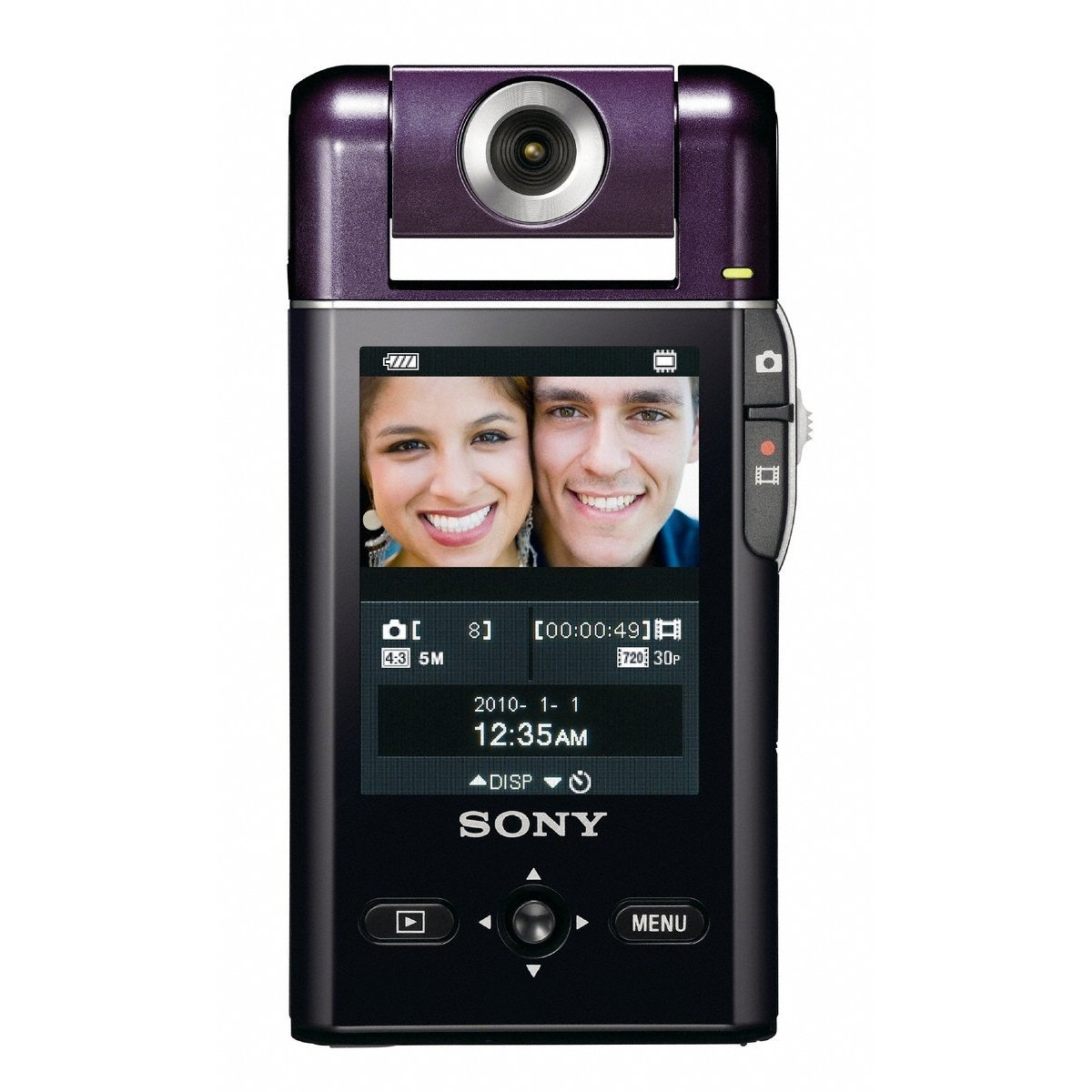 Sony MHS-PM5 bloggie HD Video Camera (Violet) - FREE SHIPPING!!