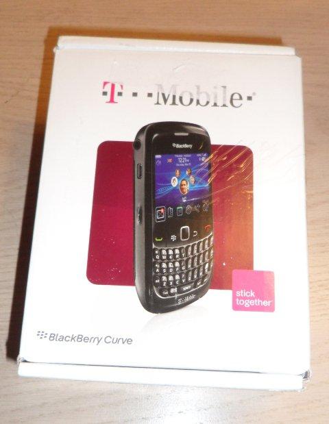 RIM BlackBerry Curve 8520 T-Mobile Black