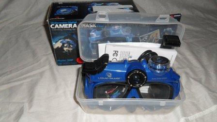 Liquid Image 5.0MP Scuba Series Underwater HD Video Mask (Medium) - Broken Strap ..
