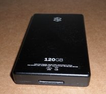 Zune 120 GB Video MP3 Player (Black) - AS IS - no power