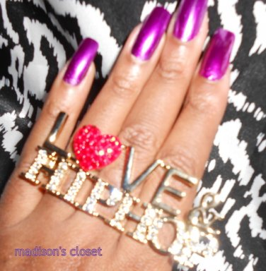 Love & HipHop (Red/Gold)