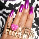 Love & Hip Hop Ring (Pink/Gold)