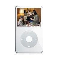 Apple White 30gb Video Ipod W/ 2.5 Lcd