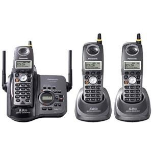 Panasonic 5.8ghz Cordless Telephone (kxtg5633bp)