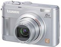 Panasonic Lumix 5.0 Megapixel Digital Camera, 6x Optical Zoom, 4x Digital Zoom, 2.0 Lcd Display