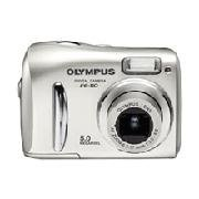 Olympus Fe-110 - 5.0 Megapixel Digital Camera With 2.8 X Optical/4x Digital Zoom