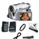 Panasonic Pvgs34 Mini Dv 28x Optical-1000x Digital Zoom Camcorder Package