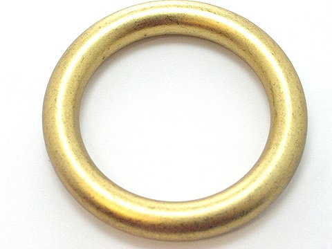 RETRO GOLD TONE BANGLE BRACELET