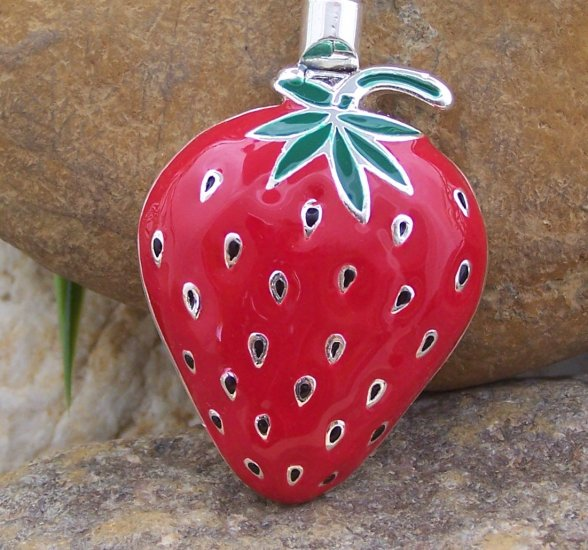 RED STRAWBERRY PURSE N' HOOK HANGER HANDBAG BAG HOLDER w/ POUCH