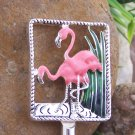 NEW PINK FLAMINGO FLORIDA PURSE N' HOOK HANGER HANDBAG BAG HOLDER w/ POUCH