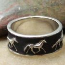 HOT NEW WESTERN COWGIRL HORSE PONY MUSTANG RING SIZE 7