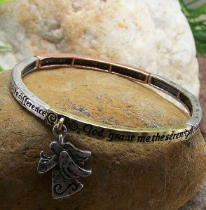 NEW SERENITY PRAYER ALCOHOLICS ANONYMOUS AA BRACELET