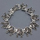 GOOD LUCK ELEPHANT CHARM BRACELET