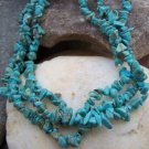 NEW TURQUOISE WESTERN NATURAL STONE NUGGET NECKLACE SET
