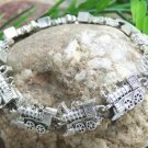 NEW ANTIQUE STYLE LOCOMOTIVE CHOO CHOO TRAIN BRACELET