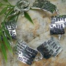 NEW RELIGIOUS CHRISTIAN TEN COMMANDMENTS BRACELET