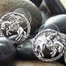 NEW WESTERN COWGIRL RODEO HORSE MUSTANG RIDER EARRINGS