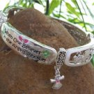 NEW RELIGIOUS CHRISTIAN GUARDIAN ANGEL CRYSTAL BRACELET