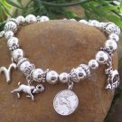 NEW ZODIAC ARIES RAM ASTROLOGY HOROSCOPE BRACELET