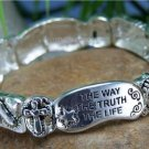 NEW RELIGIOUS JOHN 14:6 THE WAY TRUTH AND LIFE BRACELET
