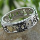 NEW RELIGIOUS GOD IS LOVE CHRISTIAN HEART RING SIZE 8