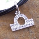 NEW ZODIAC LIBRA SCALES ASTROLOGY HOROSCOPE NECKLACE