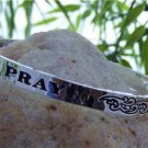 NEW RELIGIOUS CHRISTIAN RELIGION MESSAGE PRAY BANGLE