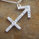 NEW ZODIAC SAGITTARIUS ARCHER HOROSCOPE NECKLACE