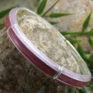 NEW PINK PURPLE LAVENDER ENAMEL BANGLE BRACELET