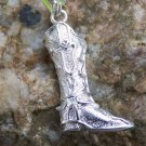 NEW WESTERN BOOT SHOE PURSE CHARM KEY CHAIN KEYCHAIN