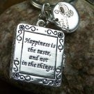 NEW PHOTO HAPPINESS LA ROUCHE FOUCOULD  LOCKET KEYCHAIN