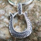 NEW WESTERN HORSESHOE PURSE HANDBAG KEY CHAIN KEYCHAIN