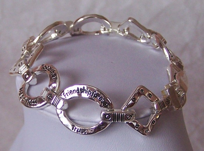 Friendship Forever Best Friend BFF Trust Bracelet