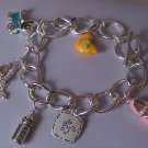 New Mother Baby Shower Bottle Shoes Carriage Bracelet