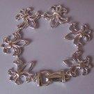 French Fleur De Lis Flower Floral Bracelet