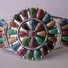 Western South Southwestern Multicolor Blue Brown Green Black Bangle Bracelet