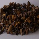 Brown Tigers Eye Natural Stone Western Turquoise Semiprecious Semi Precious Bracelet