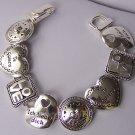 Te Quiero Ich Liebe Dich Heart Love Valentines Day Bracelet