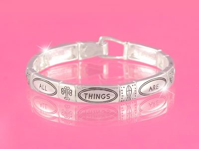 Religious With God All Things Are Possible Bracelet