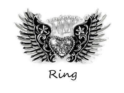 Angel Wings Ring