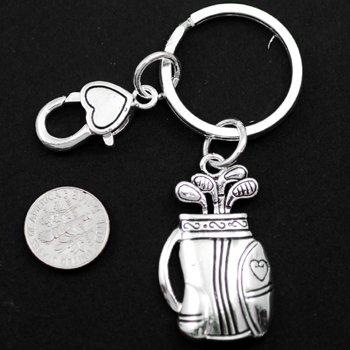 Golf Bag Key Keychain
