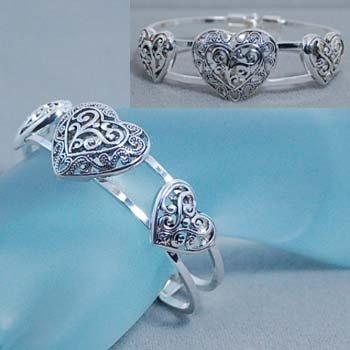 Heart Love Valentines Day Bracelet