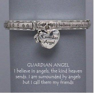 Religious I Believe in Guardian Angel Bracelet