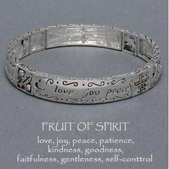 Religious Fruit of the Spirit Bracelet