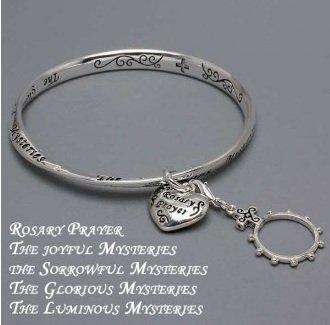 Religious Rosary Prayer Bracelet